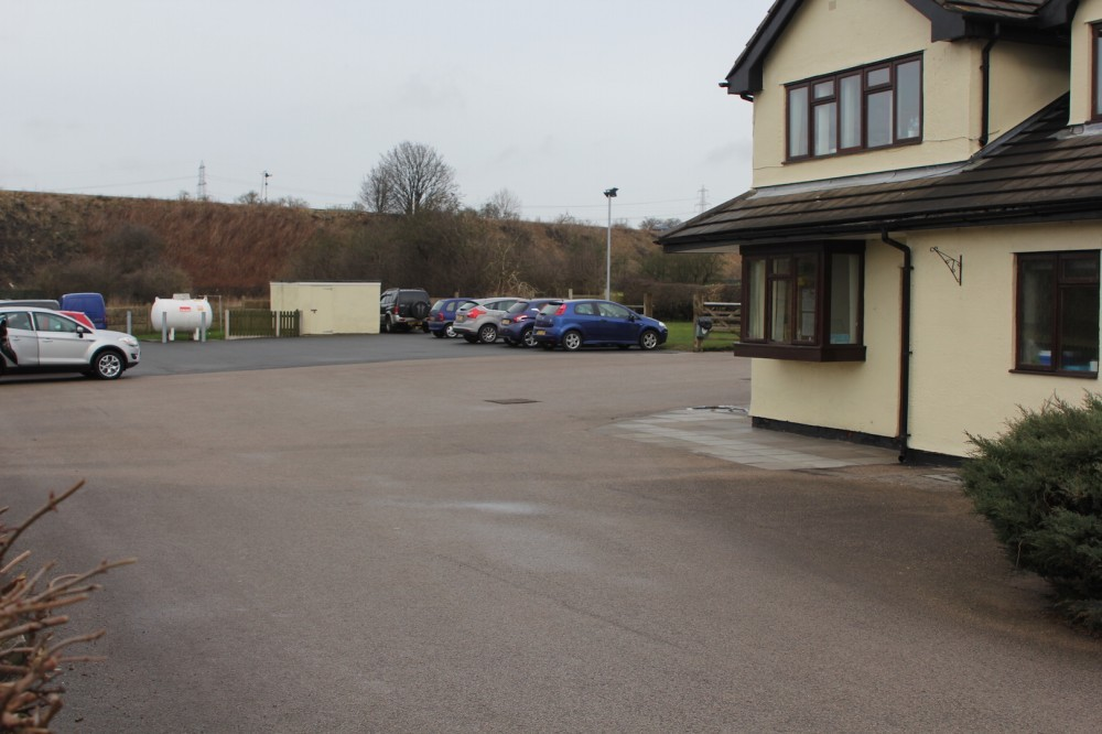 View of car park RCVC