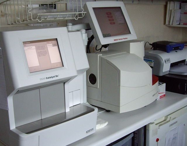 Photo of Lab analysis machine | Rose Cottage Veterinary Centre