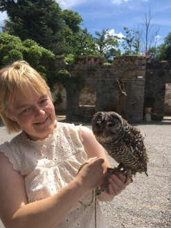 Louise and owl